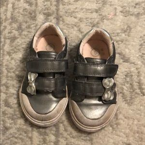 Silver Sneakers Size 5